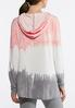 Plus Size Tie Dye French Terry Hoodie alternate view