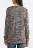 Hacci Floral Camo Top alternate view