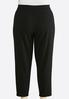 Plus Size Solid Pull- On Pants alternate view
