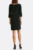 Plus Size Grommet Split Sleeve Dress alternate view