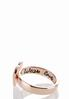 Engraved Band Heart Ring Set alternate view