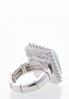 Square Stone Statement Stretch Ring alternate view