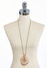 Corded Artisan Pendant Necklace alternate view