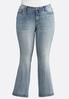 Plus Petite Fleur De Lis Pocket Jeans alternate view