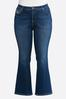 Plus Size Stitch Pocket Jeans alternate view