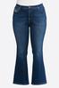 Plus Petite Plus Size Stitch Pocket Jeans alternate view