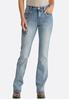 Petite Fleur De Lis Pocket Jeans alternate view