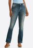 Floral Rhinestone Jeans alternate view
