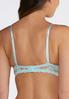Blue And Ivory Lace Convertible Bra Set alternate view
