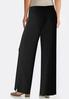Petite Solid Knit Palazzo Pants alternate view
