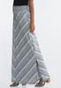 Mitered Hacci Maxi Skirt alternate view