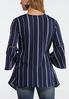 Bell Sleeve Stripe Tunic alternate view