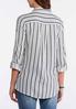 Gray Striped Shirt alternate view