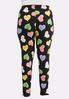Plus Size Candy Heart Leggings alternate view