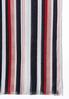 Multi Stripe Lightweight Oblong Scarf alternate view