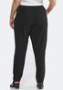 Plus Size Jersey Slim Pocket Pants alternate view