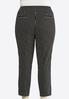 Plus Size Contrast Stripe Pull- On Pants alternate view