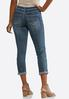 Light Wash Skinny Ankle Jeans alternate view