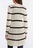 Contrast Stripe Cardigan Sweater alternate view