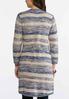 Neutral Stripe Cardigan Sweater alternate view