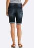 Shape Enhancing Denim Shorts alternate view