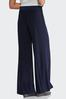 Belted Knit Palazzo Pants alternate view