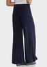 Petite Belted Knit Palazzo Pants alternate view