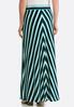 Mitered Stripe Skirt alternate view