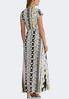Floral Stripe Maxi Dress alternate view
