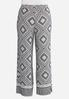 Plus Size Dotted Diamond Palazzo Pants alternate view