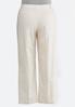Plus Size Linen Trouser Pants alternate view