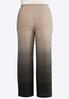 Plus Size Ombre Dotted Palazzo Pants alternate view