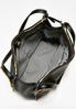 Stud Trim Faux Leather Tote alternate view