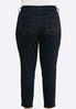 Plus Size Shape Enhancing Ankle Jeans alternate view