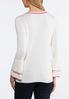 Ruffled Sleeve Sweater alternate view