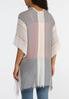 Mixed Stripe Gauze Kimono alternate view