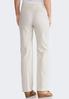 Petite Linen Trouser Pants alternate view