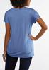 Plus Size Cinched Hem Tee alternate view