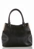 Metal Bar Solid Hobo Handbag alternate view