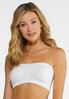 Plus Size Seamless Ruched Strapless Bra alternate view