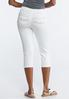 Petite White Cropped Jeans alternate view