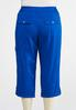Plus Size Cropped Roll Tab Cargo Pants alternate view