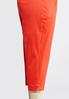 Plus Size Shape Enhancing Tailored Crop Pants alternate view