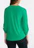 Plus Size Solid Swing Top alternate view