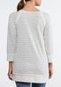 Stripe French Terry Tunic alternate view