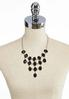 Faceted Oval Bib Necklace alternate view