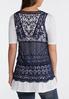 Mesh Crochet Vest alternate view