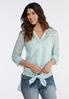 Mint Stripe Shirt alternate view
