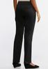 Petite Sateen Trouser Pants alternate view