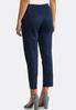 Solid Sateen Ankle Pants alternate view